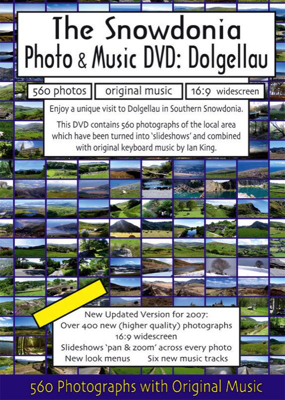 The Snowdonia Photo and Music DVD Cover