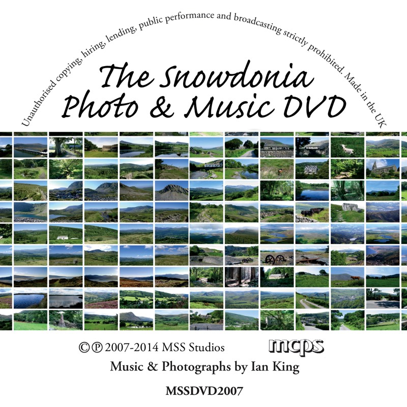 The Snowdonia Photo and Music DVD Disc