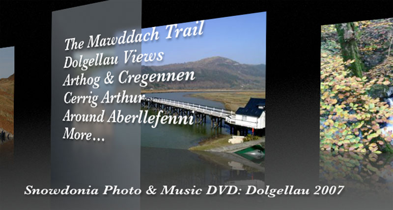 The Snowdonia Photo and Music DVD Menu 1