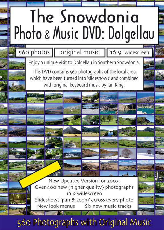 The Snowdonia Photo and Music Cover